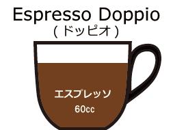 エスプレッソ ドッピオ